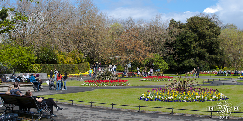 Dublin : Parc St Stephen's Green.
