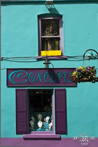 Les couleurs d'Irlande.